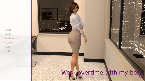 Skirtization - Work Overtime With My Boss - Version 1.0 Completed