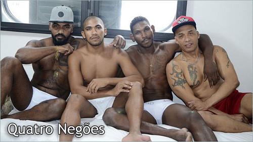 MundoMais – Quatro Negoes (Vitor Guedes, Icaro Nobre, Kadu Castro & Marcelo Mineiro)
