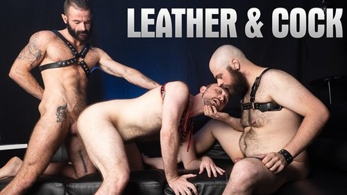HairyAndRaw - Leather And Cock: A Compilation Bareback