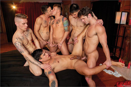 Falcon – The Pledge: Devin, Trevor, Nic, Zak & Colton Bareback