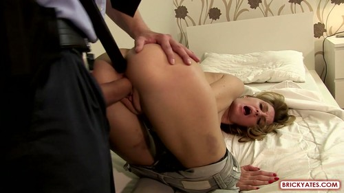 BrickYates.com - Vicky - Police Brutality Cop Forces A Girl to Fuck To Stay Out of Trouble