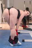 Hannah Vivienne Trainer on the Ropes in Anal Threesome