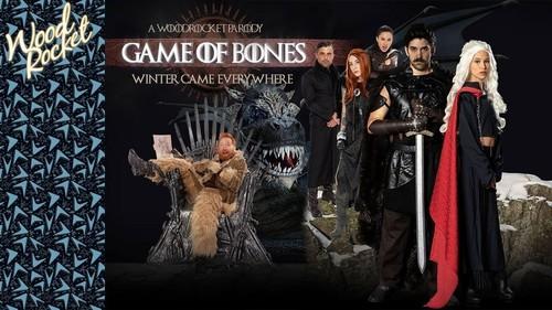 Charlotte Sartre, Kiara Cole - Game Of Bones 2 Winter Came Everywhere (2019/WoodRocket.com/HD)