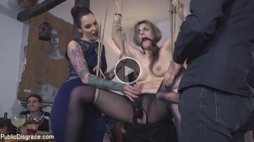 Demure Pain Slut Humiliated - Gemma Gomory (PublicDisgrace.com-2017)