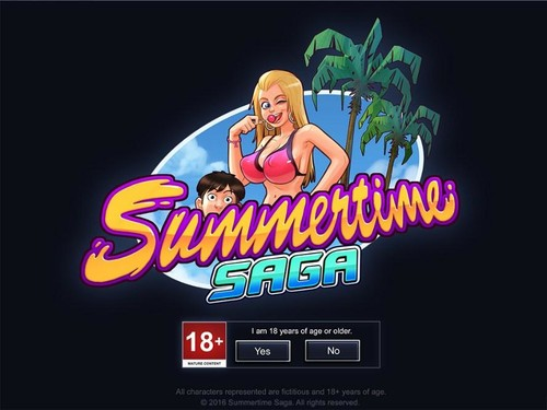 Summertime Saga Version 0.18.2 + Incest Patch by DarkCookie