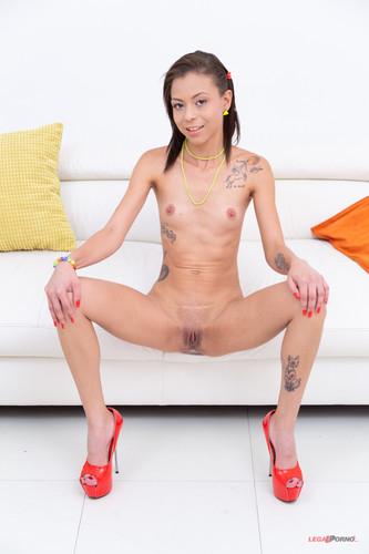 LegalPorno.com - Petite Polly Petrova Is A Piss Drinking Slut! SZ2182