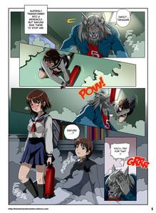 Princess Werewolf 2 by Locofuria