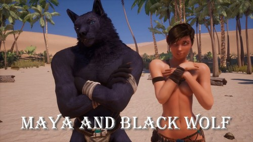 Adeptus Steve - Wild Life: Maya and Black Wolf