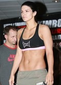 Gina Carano Strips Nude, Then Her Towel Drops at EliteXC Weigh-ins