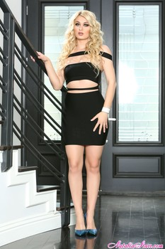 Natalia Starr         Name: Black Dress and Butt