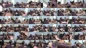 Foot Slaves - Line Up! - Mistress Blackdiamoond