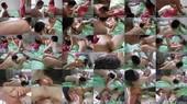 Cuckolded Slave Licks Sperm Out Of Summer`s Pussy - Mistress Summer