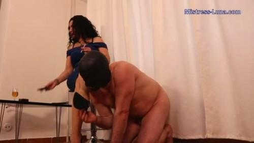 sniff my stinky nylons - Femdom Porn