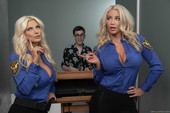Brittany Andrews & Nicolette Shea Fucking His Way Into the U.S.A