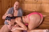 Ania Kinski Sauna Cumshot 59 pics 38 Mb