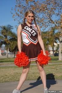 Cassandra Calogera - Big tits Cheerleaders are