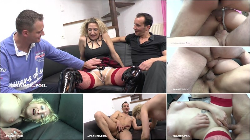 Beatrice - This husband shars his wife and she gets hard analyzed and double penetrated before getting her face cum covered [HD 720P]