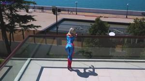 Sia Siberia - Avengers - Captain Marvel fucks with man, FHD