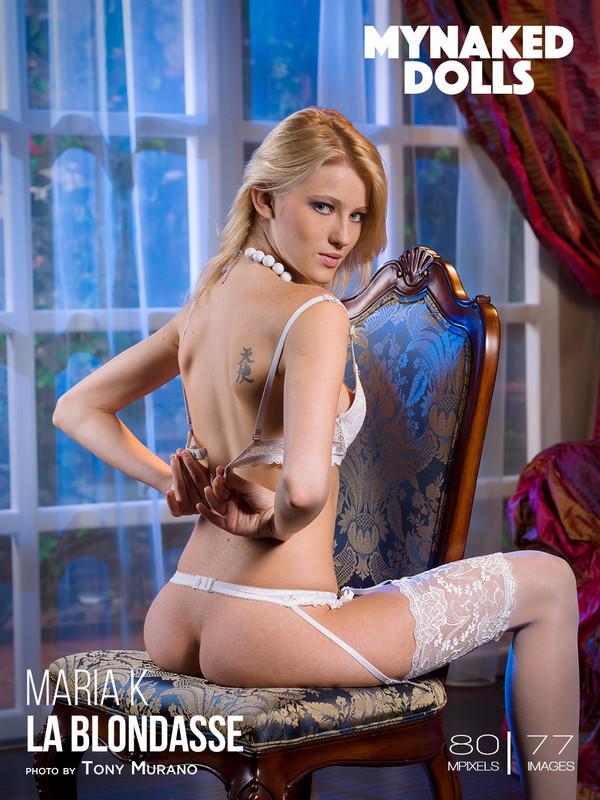 Maria K - La blondasse  (2019-09-18)