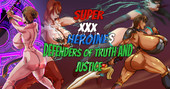 Sk8poison - Super Heroines XXX Defenders of Truth And Justice
