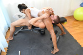Demi Sutra Demi Works Out A Cock
