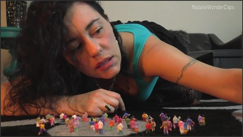The Sadistically Delectable Cravings Of A Horny Giantess - NatalieWonder  - iwantclips