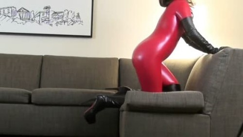 Latex Catsuit, Rubber Gimp, Leather Fetish Sex 267