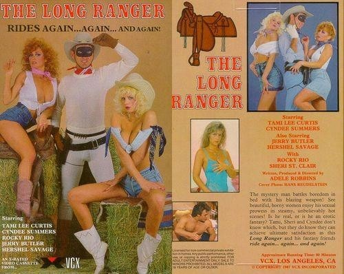 Keisha, Tami Lee Curtis, Sheri St Claire, Cyndee Summers, Herschel Savage, Brandon Harris, Jerry Butler - The Long Ranger (SnowflakeFilms,VCX/1987/SD)