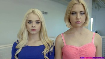 Hypno incest video with two teen blondes and stepbrother