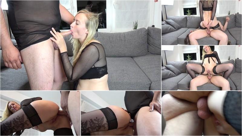 SophiaGold - AO in den Arsch gefickt und auf den Arsch gewichst [FullHD 1080P]